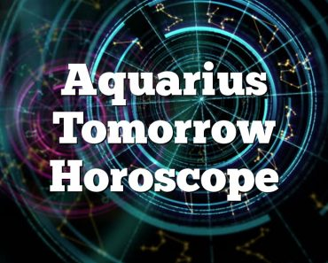 Aquarius Tomorrow Horoscope