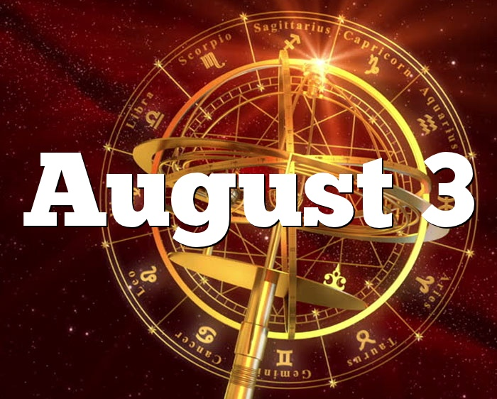 August 3