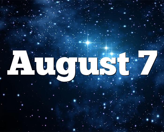 August 7 Birthdays - Happy Birthday Images