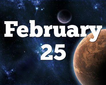 February 25