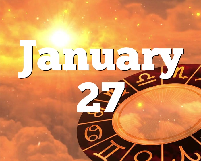 scorpio born january 27 horoscope