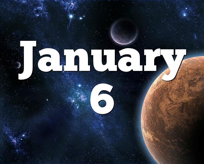 6 january birthdays horoscopes