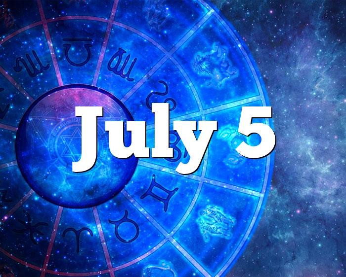 July 5 Birthday horoscope - zodiac sign for July 5th