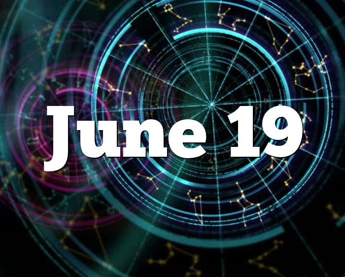 June 19