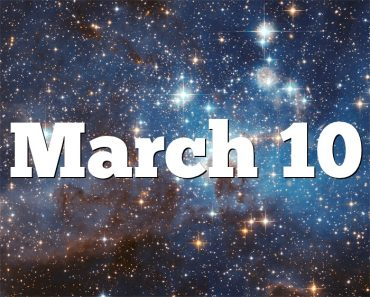 March 10