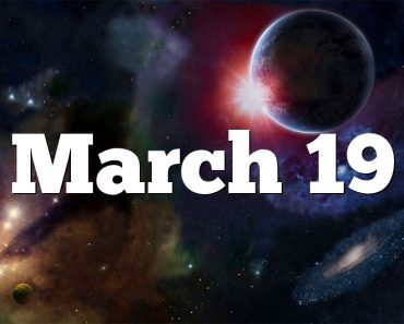 March 19