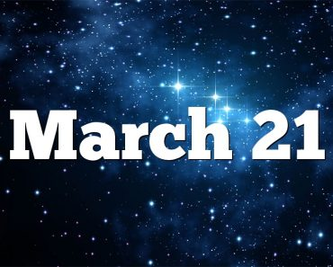 March 21