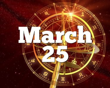 March 25