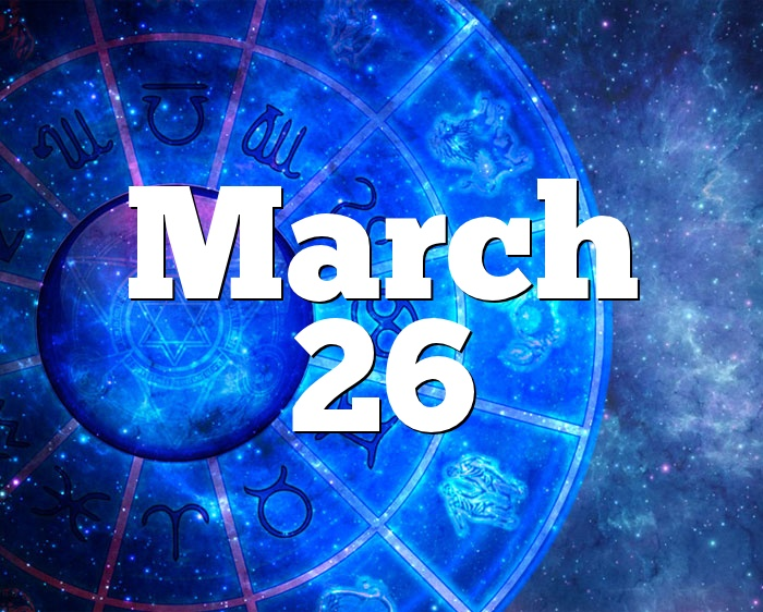 march 26 birthday horoscope for 2020