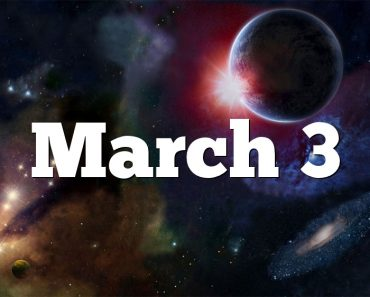 March 3