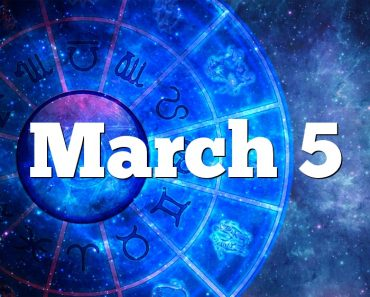 March 5