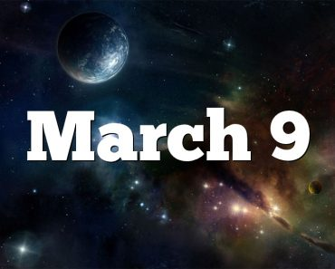 March 9