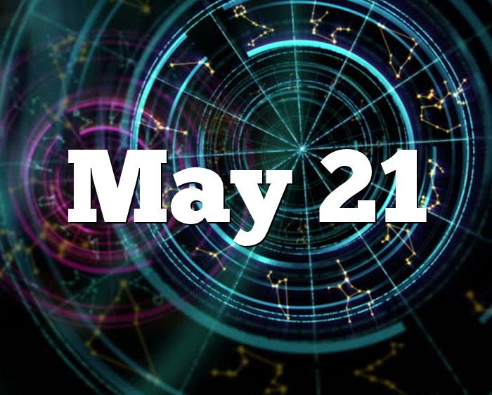 May 21