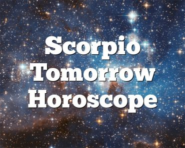 Scorpio Tomorrow Horoscope