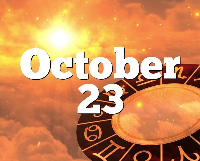 born on october 23 horoscope