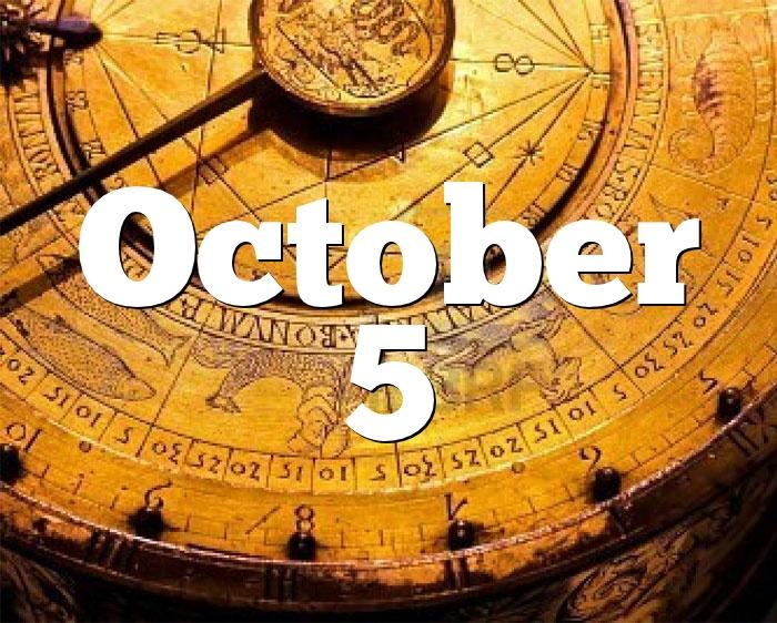 October 5 Birthday horoscope - zodiac sign for October 5th