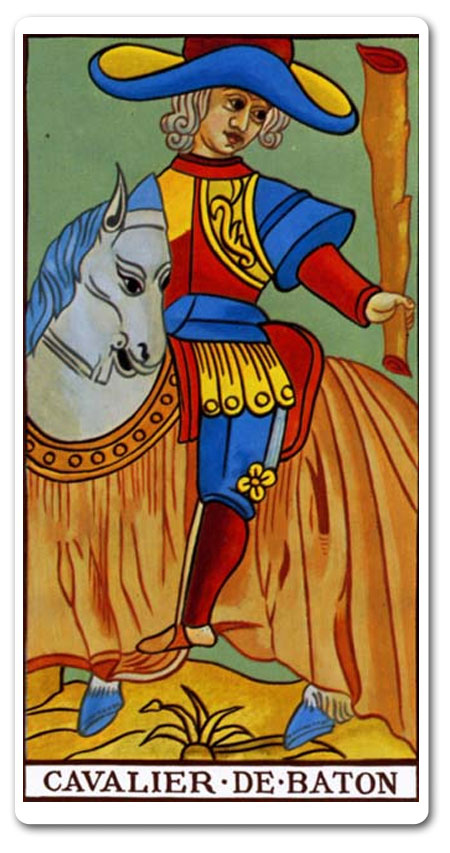 Knight of Wands tarot meaning : love, finances, future, yes
