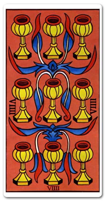 Nine of Cups tarot meaning : love, finances, future, yes or no