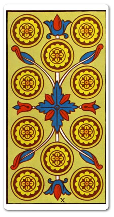 Ten Of Pentacles Tarot Meaning : Love, Finances, Future