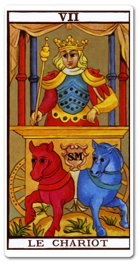 The Chariot Tarot Meaning : Love, Finances, Future, Yes Or No