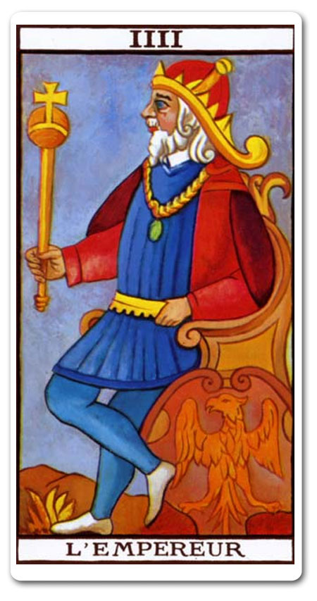 The Emperor tarot meaning : love, finances, future, yes or no