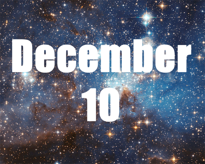 December 10 Zodiac Birthday Horoscope Personality of calm intensity