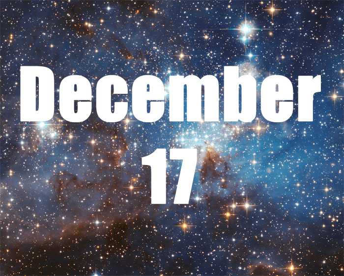 December 17 Zodiac Birthday Horoscope Personality of the practical realist