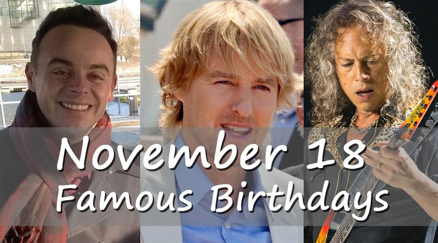 november 18 birthday daily horoscope