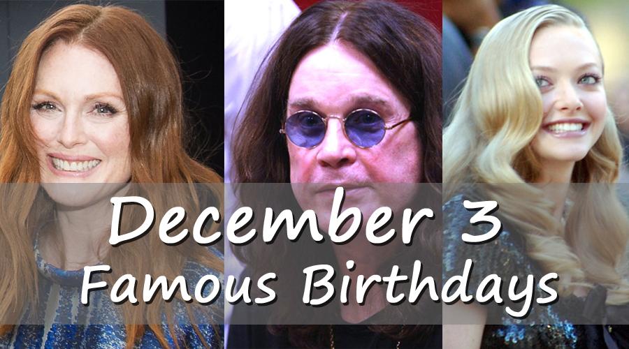 December 3 Birthday Horoscope Zodiac Sign For December 3th