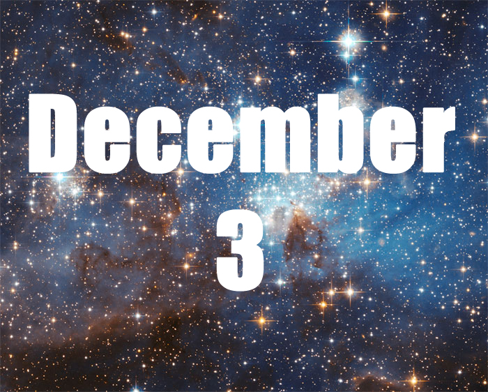 December 3 Zodiac Horoscope Birthday Personality ...