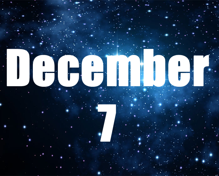 horoscope of 7 december