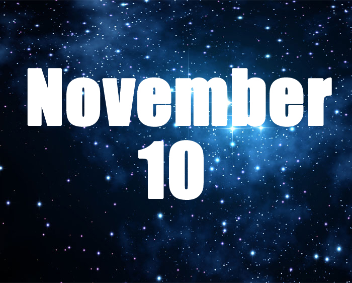 horoscope for those born on november 10