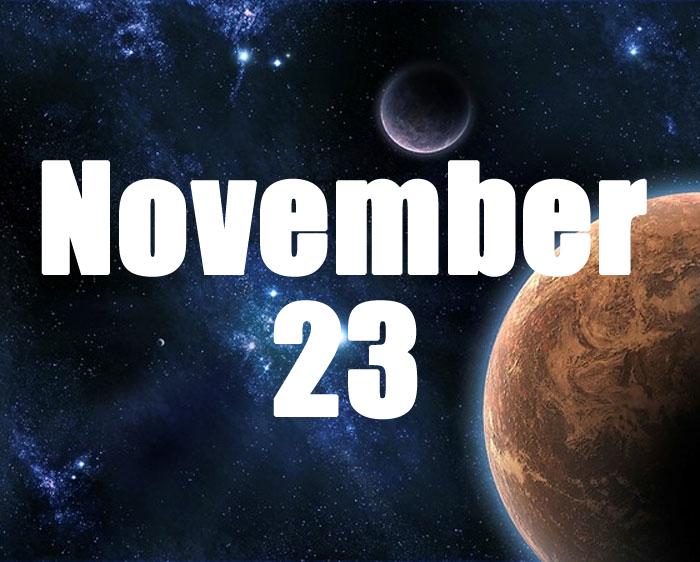 born on 23 november horoscope