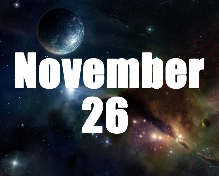 Born on November November 26th Horoscope: Lucky Numbers, Days, Colors, Birthstones, Tarot Card..