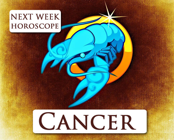 Cancer next week horoscope