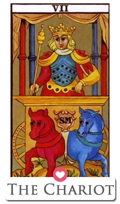 chariot love tarot