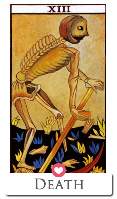 death love tarot