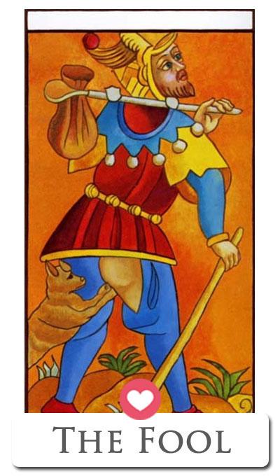fool love tarot