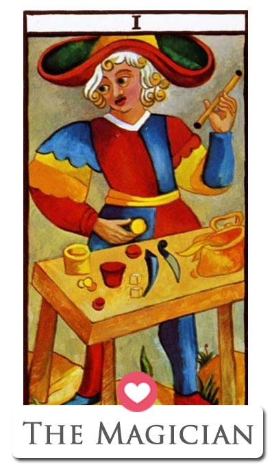 magician love tarot