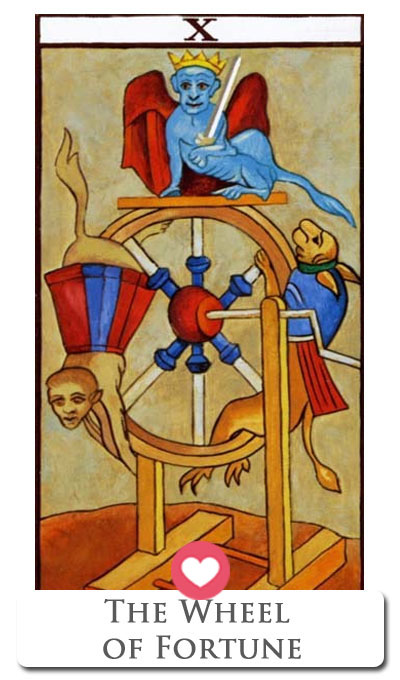 wheel of fortune tarot love