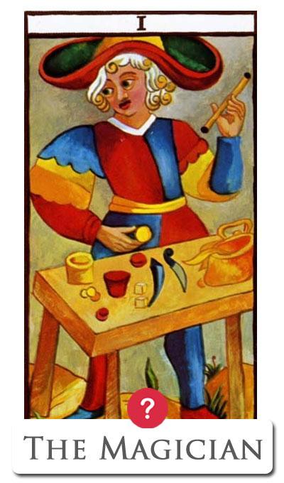 yes no tarot magician