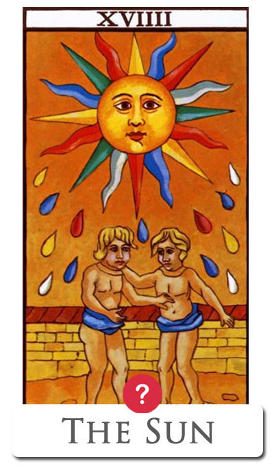 sun yes no tarot