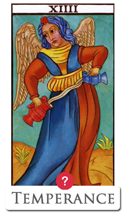temperance yes no tarot