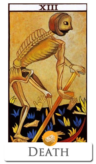 death finance tarot