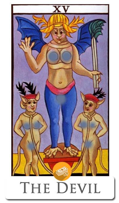 devil finance tarot