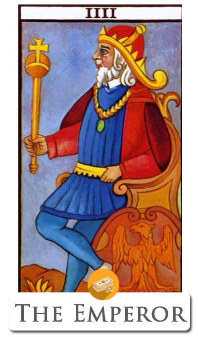 emperor finance tarot
