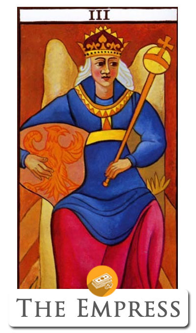 empress finance tarot