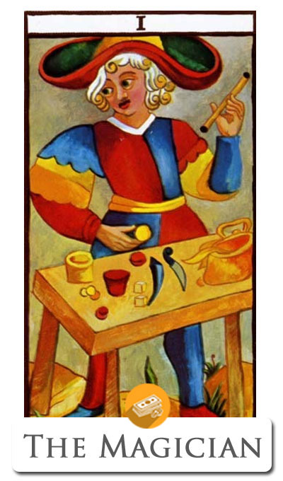 magician finance tarot