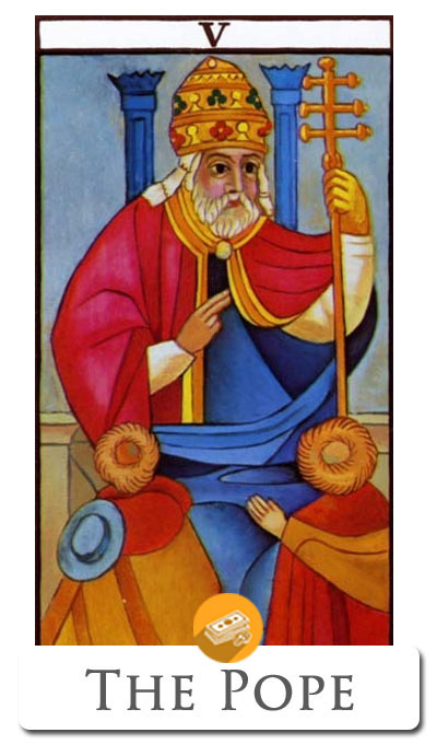 pope finance tarot
