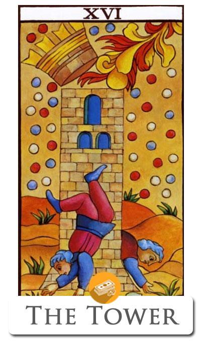 the tower finance tarot
